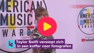 Taylor Swift in de koffer