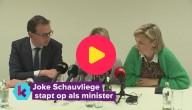 Joke Schauvliege stapt op als minister