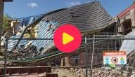 dak van school ingestort