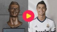 Karrewiet: borstbeeld Ronaldo
