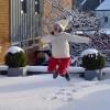 Kerstmis is mijn favoriete dag van het jaar, zeker als het een witte Kerst is!
