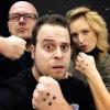 <p>Een stoere anti-pest-selfie van Tijl, Sander en Goele van Ketnet Musical.</p>