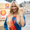 <p>Miss België Celine Van Ouytsel werd vroeger&nbsp;jammer genoeg zelf gepest.</p>