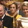 Ook voor koningin Mathilde is dit een emotioneel moment.