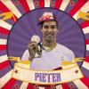 De pet van Belgische zwemmer Pieter Timmers