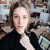 <p>Tine Roggeman uit Buck zet haar stippen tegen pesten.</p>