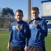 <p>Cool! Onze Gouden Schoen Ruud Vormer en Thibault Vlietinck trappen de stippen de wereld in.</p>