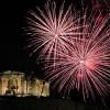 Vuurwerk in  Griekenland