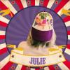de pet van MNM-presentatrice Julie Van den Steen