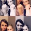 <p>Kim De Brie van Radio 2 stipt samen met dochter Noa.</p>