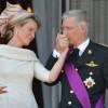 Koningin Mathilde verdient een kus.