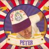 de pet van MNM-presentator Peter Van de Veire