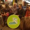 De papa van Tanne, Tanne, Jan Becaus, Wim De Vilder, de mama en de broer van Tanne