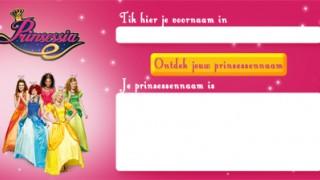 Prinsessia: Wat is jouw prinsessennaam?