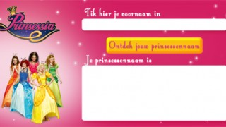 Prinsessia: Wat is jouw prinsessennaam?