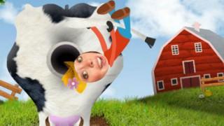 De omgekeerde show: Kak in de koe