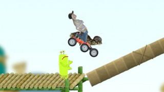 thumbnail spel: Schildpad op Schok