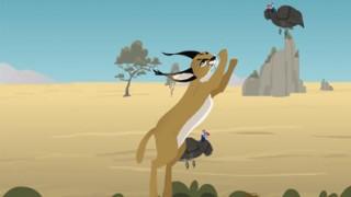 thumbnail spel: Caracalsprongen