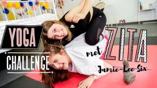 Yoga-challenge met Zita en Jamie-Lee