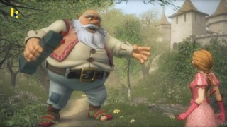 Sprookjesboom: Sterk als een reus