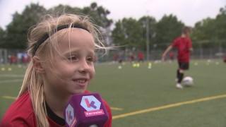 Elise speelt bij KV Mechelen