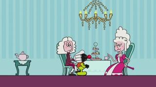 Stoppeltje: Stukje kaas en kopje thee