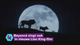 Beyoncé zingt in The Lion King