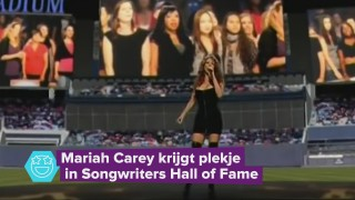 Mariah Carey krijgt een plekje in de songwriters hall of fame
