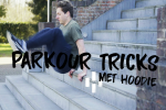 Parkour tricks met Hoodie