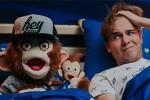In bed met Olly
