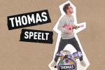 Thomas speelt