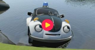 Film: Pelle de politiewagen