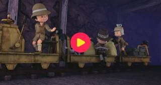 Suske & Wiske Junior: Een trein vol schatten