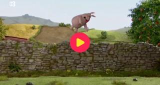 Shaun het schaap: Lach eens naar het schaapje