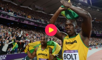 Bolt wint 100 meter