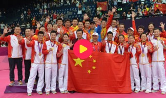 China wint alles