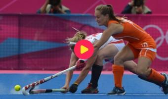 Hockeymeisjes kunnen niet stunten