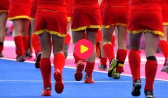 Hockeymeisjes 11de