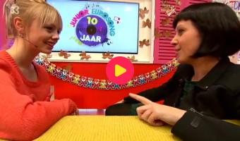 Kristien blikt terug op Junior Eurosong