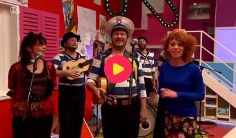 Kapitein Winokio zingt De kleine zebra
