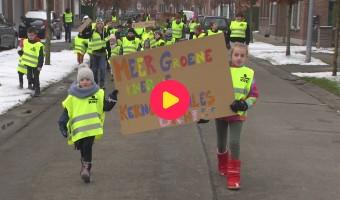 Op straat voor het klimaat