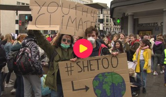 Tweede keer spijbelen voor het klimaat