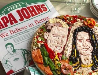 Kate en Will pizza