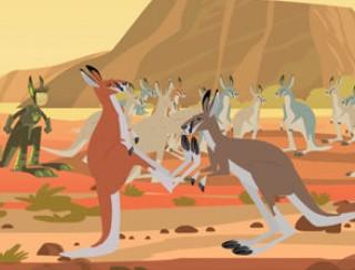 thumbnail spel: Boksende Kangoeroes