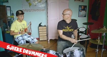 Sjieke Dinges: Drummen