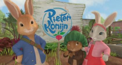 Volg de avonturen van Pieter het konijn.