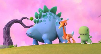 Dinopoot: wie is wie