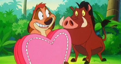 Timon en Pumbaa