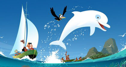 Zoom de witte dolfijn: Het verhaal