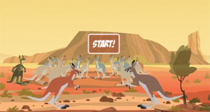 Speel de spelletjes van Kratts in het wild